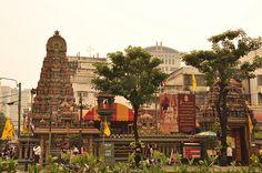 Sri Mariamman Hindu Temple, Bangkok, Thailand