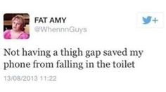 Image result for funny thigh gap pictures