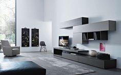 Designer Wohnwände   Stilvolles Zentrum für Ihr Wohnzimmer