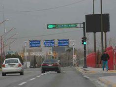 Se instalaron nuevos semáforos. Ciudad Juárez.