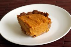 Abby's Vegan Pumpkin Pie with a Pecan-Oat Crust