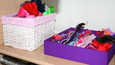 How To Organize Little Girls' Hair Accessories
