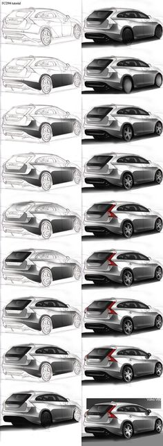 FCD tutorial paint car by - Design's - Autos Car Design Sketch, Car Sketch, Tutorial Paint, Carros Bmw, Photoshop Rendering, Sketches Tutorial, Industrial Design Sketch, Affinity Designer, Car Drawings