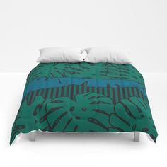 MONSTERA NIGHTS Comforters