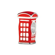 The Red British Telephone Box Bead - part of the Links of London 2012 collection.