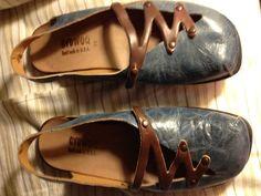"Cydwoq Women's ""Zebra"" slingback sandals"