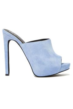 20 fashionable heels that will give any outfit a style boost. Jeffrey Campbell Robert's Suede Mule, $135; nastygal.com
