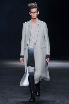 Ann Demeulemeester Menswear _ Fall 2012
