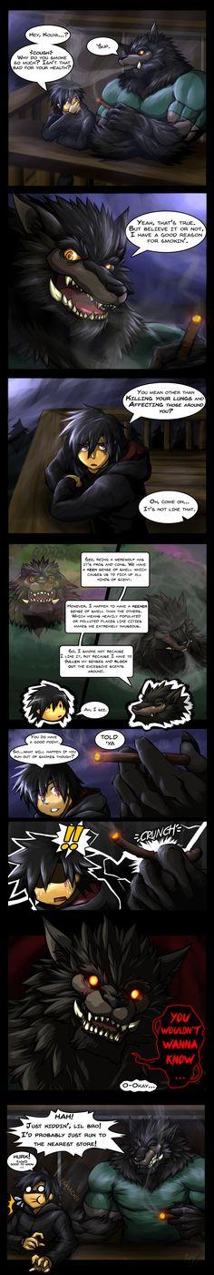 Why Kouya Smokes by WarGreymon43