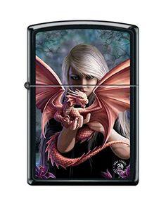 anne stokes zippo dragon woman