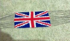 Loom, Seed Beads, Flag, UK