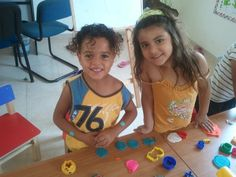 Two Early Learning Center students in Israel