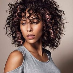 short curly hair style with bangs | 20+ Nice Curly Hair with Bangs | Hairstyles & Haircuts 2016 - 2017