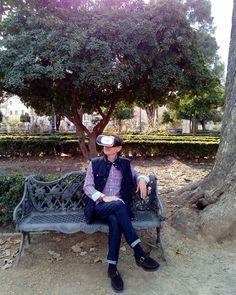 An awesome Virtual Reality pic! En un jardín de Granada. VR 360º. #tourism #alhambra #turismo #virtualreality #vr360 #vrglasses #atpworldtour #rolex #travel #traveling #360video #cardboardbox #camera #atpworldtour #madrid #design #deporte by montalvoconrado check us out: http://bit.ly/1KyLetq