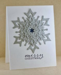 Uses PTI snowflake dies - The Mango Boys and Me: Super Fast Christmas!