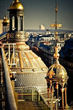 How gorgeous! Paris rooftops