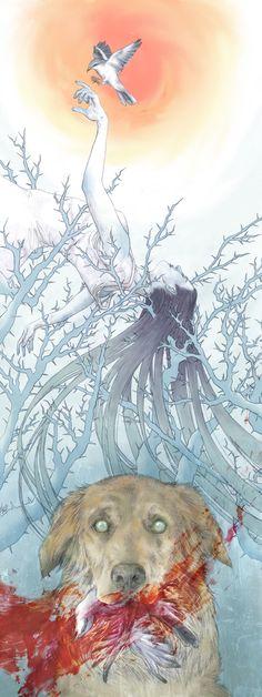 The Minnesota Shrike by Womaneko.deviantart.com on @deviantART