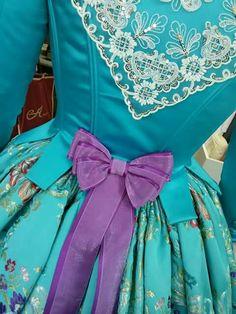 Lazo triple Folk Costume, Costumes, Marie Antoinette, Peplum, Sewing, Regional, Fabric, Alicante, Women