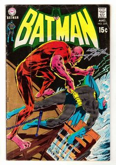 Batman 224 8 70 GD Signed on Cover by Neal Adams Neal Adams Cover | eBay