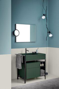 Mueble bajo lavabo de pie con cajones NARCISO MINI by Ceramica Cielo