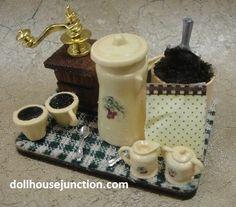 Kitchen Accessories – Page 3 – Dollhouse Junction Kitchen Accessories, Home Kitchens, Coffee Cups, Prepping, Jar, Decor, Kitchen Fixtures, Coffee Mugs, Decoration