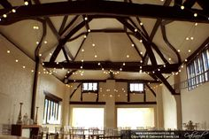 Wedding lighting at Nether Winchendon House by Oakwood Events. Including fairy lights, chandeliers, festoon lights, paper lanterns, uplighting and more. Event Lighting, Paper Lanterns, Fairy Lights, Sunny Days, Chandelier, Ceiling Lights, Rustic, Festoon Lights, House