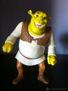Figura Shrek de 14 cms. Objeto promoción McDonalds. (Juguetes - Figuras de Goma y Pvc - Otras)
