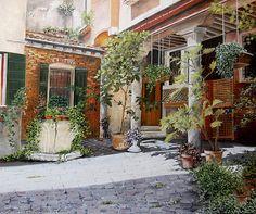 Marie-Claire Houmeau  Cour à Venise