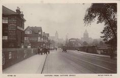 Catford from Catford Bridge, SE London,