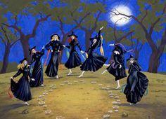 witch dance