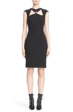 Versace Collection Cutout Sheath Dress available at #Nordstrom
