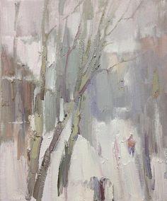 Денис Октябрь-Этюд из окна-30х25.From the window.Study. 16 января 2018 .jpg
