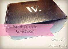 Wantable Makeup Box Giveaway - Wantable Makeup Box Giveaway - Ends - 02-10-2014