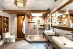 Thinking about Bathroom Decor? Here are 35 Stunning Ideas for Tropical Bathroom Decor. Best interior design and decorations for your dream bathrooms.