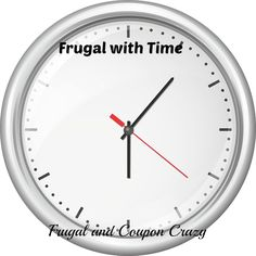 Frugal with Time too?