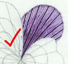 Online embroidery classes - needle painting and blackwork http://www.berlinembroidery.com/onlineclasses.htm