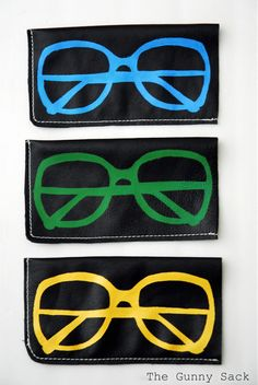Playful Design For A Sunglass Case. Stylish Sunglasses, Sunglasses Case,  Sunnies, Sunglass
