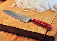 Cómo sujetar un cuchillo de cocina correctamente