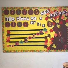 Kodaly Inspired Classroom: Fall Themed Music Bulletin Board Music Education Activities, Teacher Resources, Classroom Bulletin Boards, Music Classroom, Sight Singing, Music Teachers, Elementary Music, Music Mix, Autumn Theme