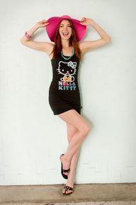 Hello Summer! Hello Kitty Sleeveless Tank Dress