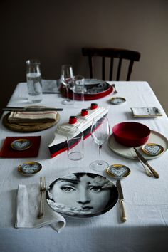 Frassi.tumblr.com/ Www.frassi.it Photographer Kirstine Mengel Likes This.  Piero FornasettiPlace SettingsTable ...