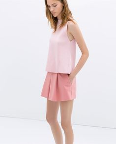 ZARA - NEW THIS WEEK - MINI CULOTTES WITH POCKETS