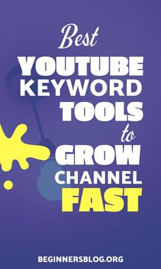 Want to grow your YOUTUBE channel then these YouTube keyword tools can help you find most profitable keyword ideas to come up with the best results. #YouTube #YouTubers #SEO #KeywordResearch #youtubeSEO #GrowYouTubeChannel Youtube Tags, You Youtube, Youtube Trending, Start Youtube Channel, Keyword Trends, Keyword Planner, Making Money On Youtube, Online Jobs, How To Make Money