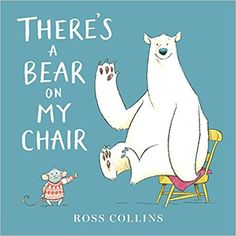 There's A Bear on My Chair (Book) : Collins, Ross : Poor Mouse! A bear has settled in his favorite chair and that chair just isn't big enough for two. Mouse tries all kinds of tactics to move the pesky Bear but nothing works and poor Mouse gives up. Toddler Books, Childrens Books, Baby Books, Best Summer Reads, Bear Crafts, Glasgow School Of Art, Art School, School Stuff, Get Up And Walk