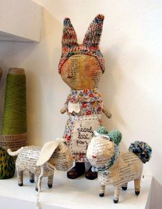 Awesome Paper Mache Creatures Like Never Seen Before (15)