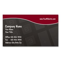 Accounting Business Cards. I love this design! It is available for customization or ready to buy as is. All you need is to add your business info to this template then place the order. It will ship within 24 hours. Just click the image to make your own!