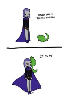 Teen Titans, Raven and Beast Boy