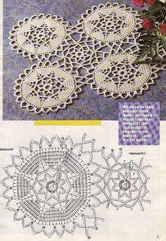 Patterns and motifs: Crocheted motif no. 509