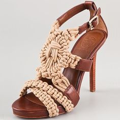 Tory Burch - I doubt these are in my budget ($295) but there are some cute ones within my parameters on the page