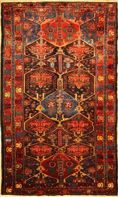 Antique Bahktiari Carpet